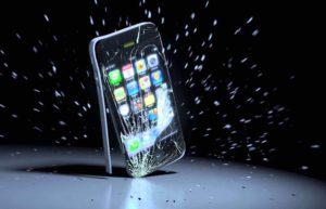 ремонт телефона после падения
