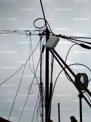Монтаж антенны 4g