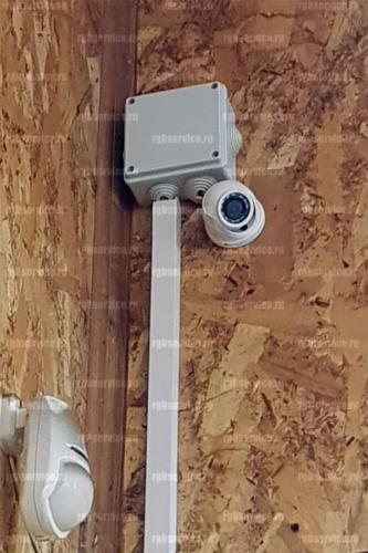 Обслуживание системы видеонаблюдения в автомастерской