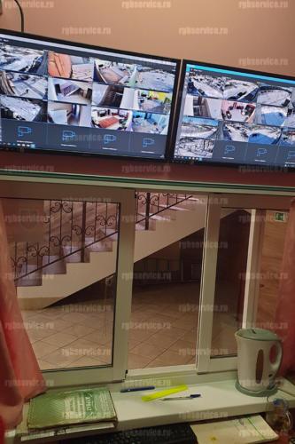 Установка видеонаблюдения, объект - детдом