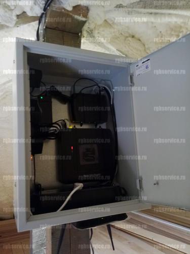 Установка системы видео-наблюдения, коттедж