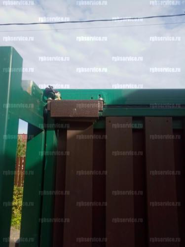 Установка видеонаблюдения в коттеджном участке