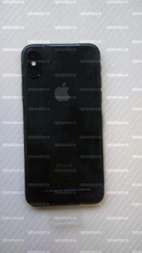 Задняя крышка iPhone X