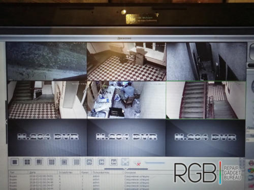 установка видеонаблюдения в офисе
