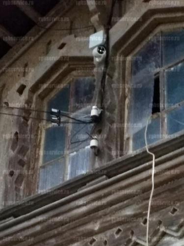 Установка видеонаблюдения на охраняемой парковке