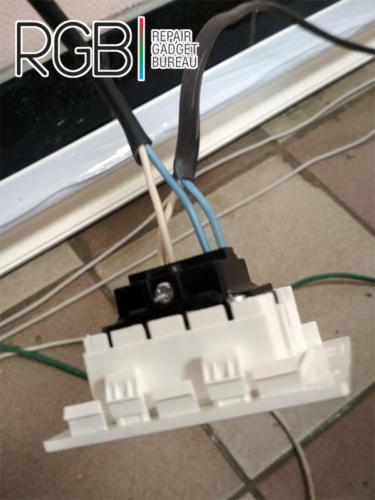 Монтаж силовой розетки 220 вольт DKC