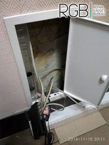 Монтаж кабельного короба DKC