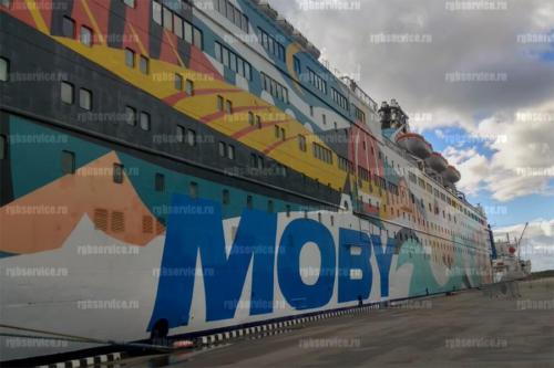 Установка видеонаблюдения на корабле