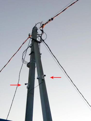 Установка системы видеонаблюдения на пункте металлоприёма