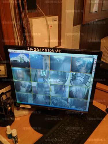 Настройка видеонаблюдения в военкомате