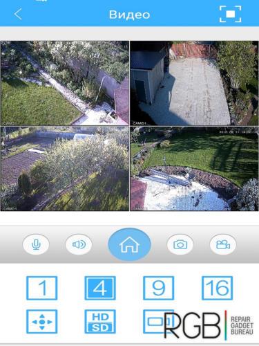 Установка видеонаблюдения в загородном доме