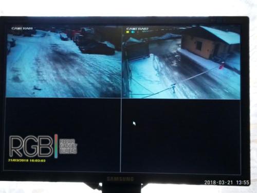 Видеонаблюдение установка на завод